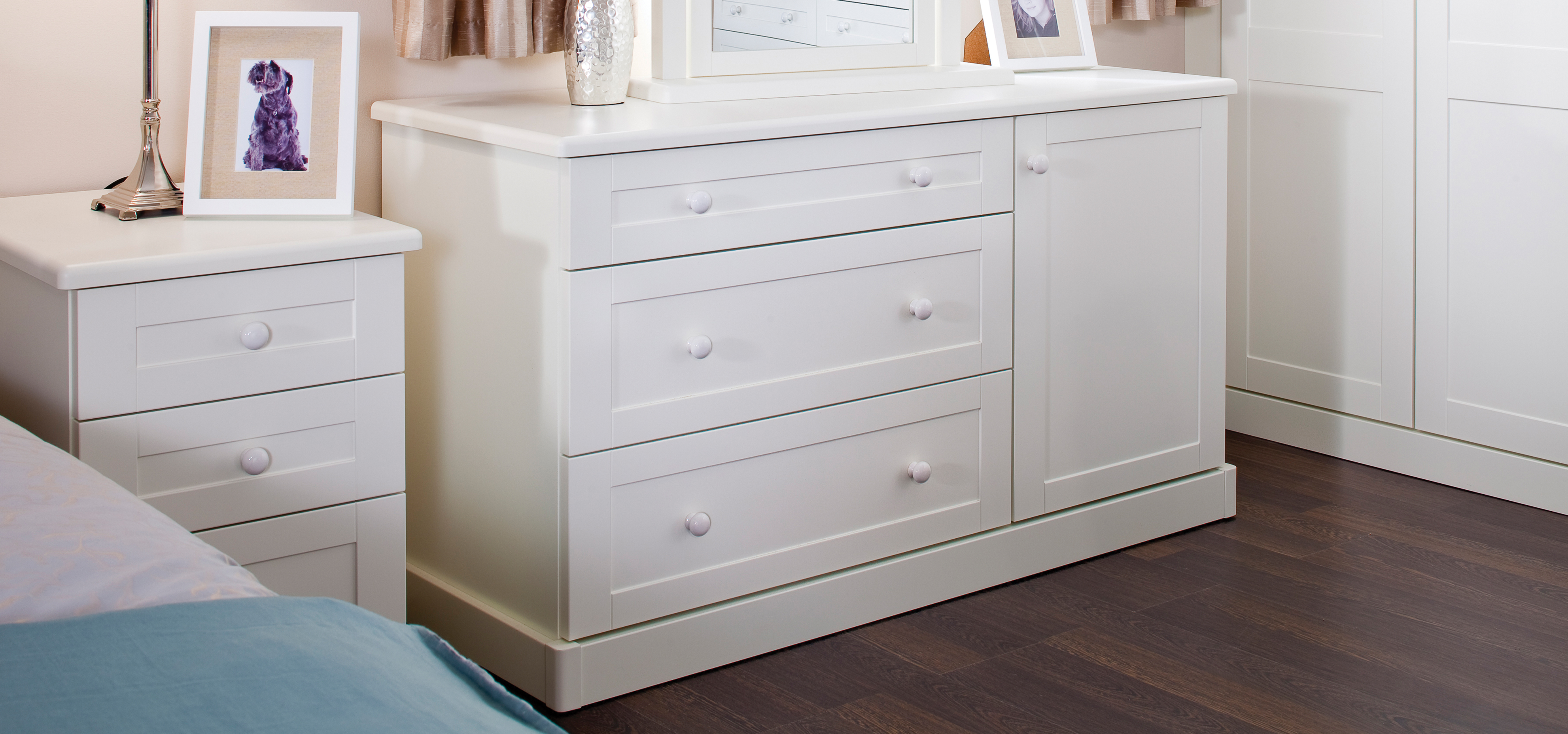 Shaker Style Combi Chest