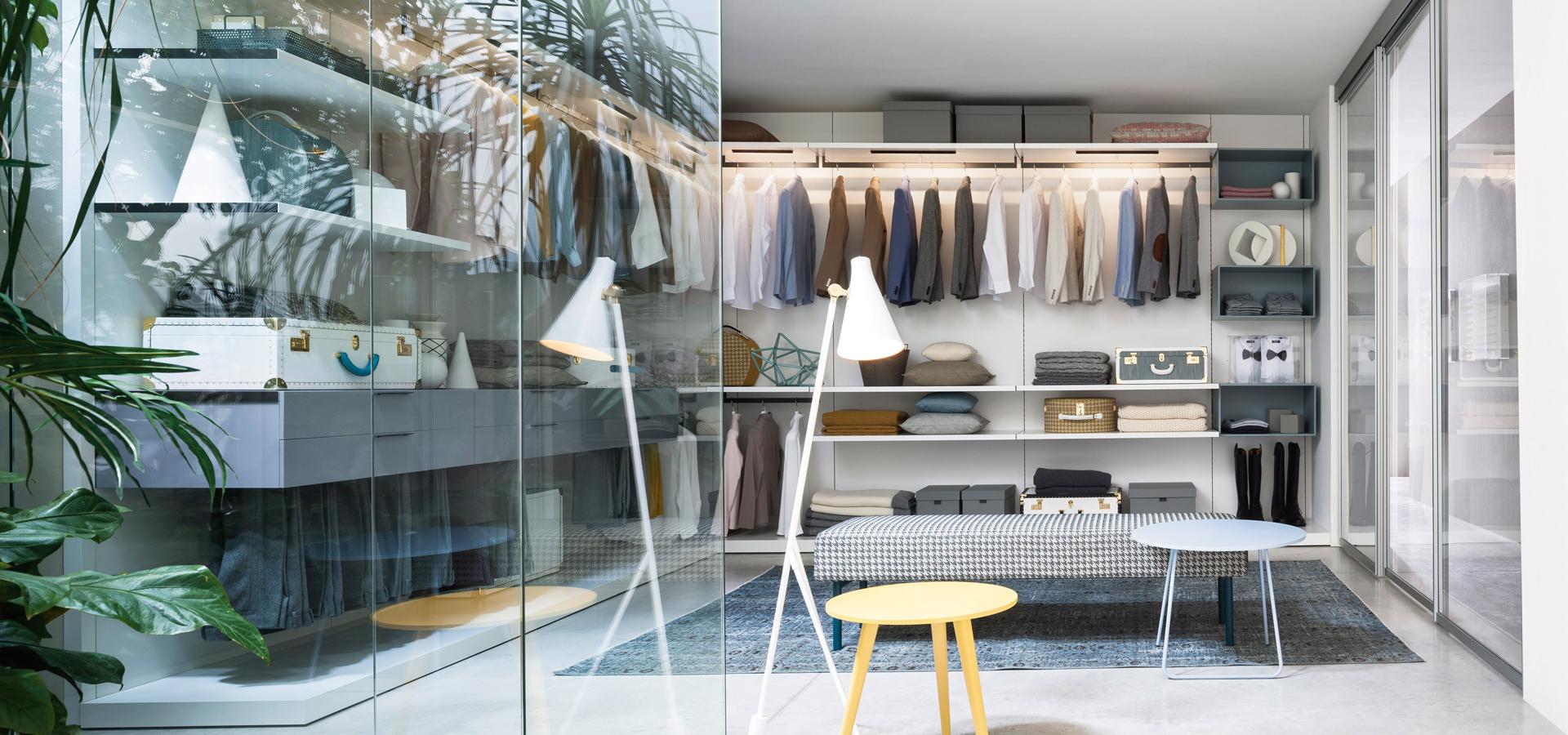 Modern Italian Style Dressing Room
