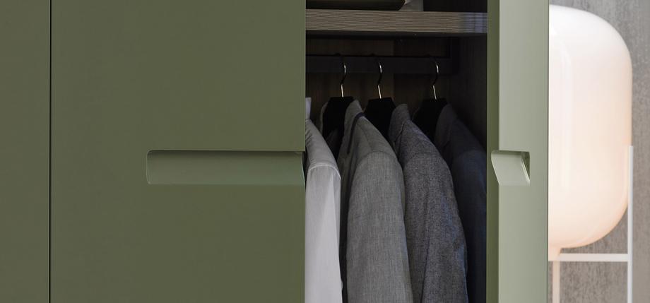 Liberty wardrobe range detail of handle